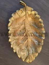 Leaf Metal Tray