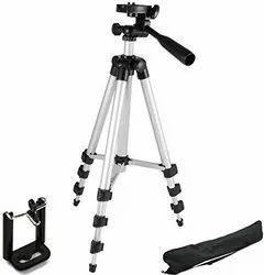 Tripod with Mobile Clip Holder Bracket
