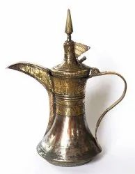 Dallah Coffee Pot in Metal