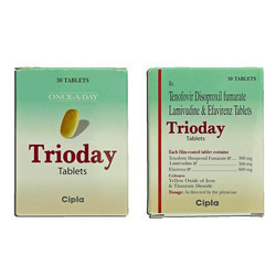 Tenofovir Disproxil Fumarate And Lamibudine and Efavirenz Tablets