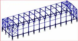 Structural Steel Frame Analysis