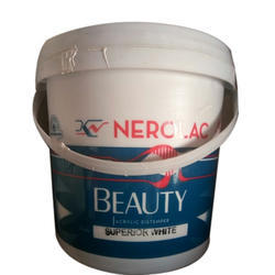 Nerolac White Beauty Acrylic Distemper, Packaging: Bucket