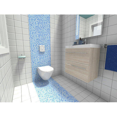Images Of Small Bathroom Designs In India: Bathroom Tiles, बाथरूम टाइल्स At Rs 20 /square Feet