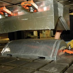 Polished Sheet Metal Manufacturing Service for Industrial