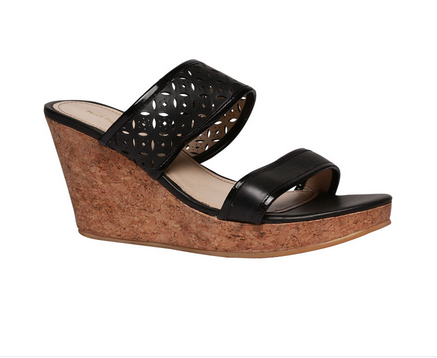 8630a20f6c Black Women Hush Puppies Wedges For F75469840000ee, Size: 4, Rs 1749 ...