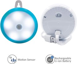 Hoteon Motion Sensor Light, 3 Modes, Rechargeable Motion Sensor LED Light with USB Cable Auto On/Off