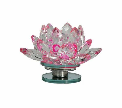 Lovato Crystal Lotus Flower Rs 300 Piece Ss Enterprises Id