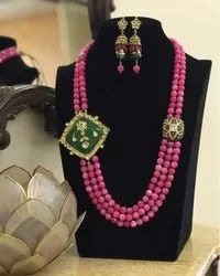 Necklace Set, Packaging Type: Box Packing