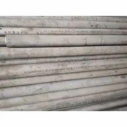 Round Stainless Steel Ratnamani Pipe, 6 Meter, Steel Grade: 316
