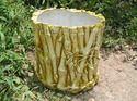 Knt Fiberglass Bamboo Planter
