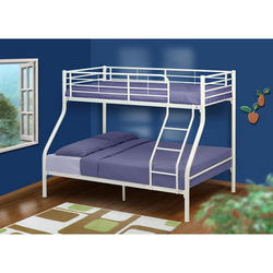 White Double Bunk Bed