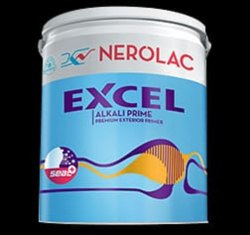 Nerolac Excel Alkali Exterior Primer, Packaging Type: Bucket