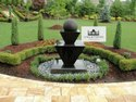 Black Outdoor Fountain