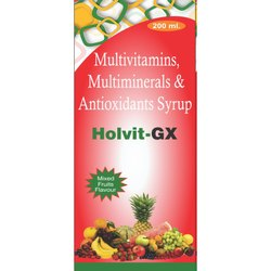 Multivitamins Multiminerals & Antioxidants Syrup