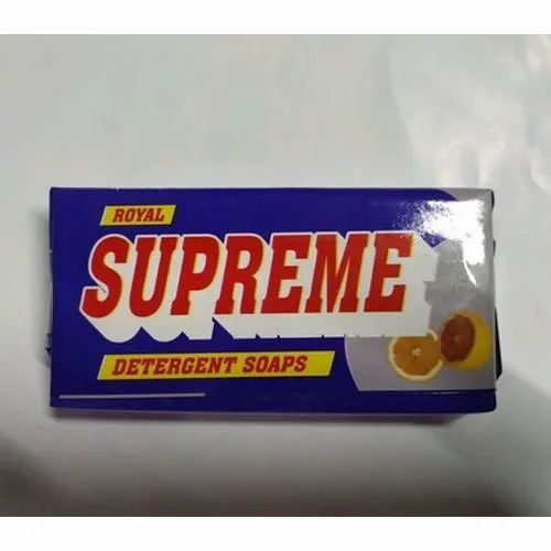 Supreme Lime Royal Cloth Washing Detergent Cake, Packaging Size: 180 g, Packaging Type: Packet