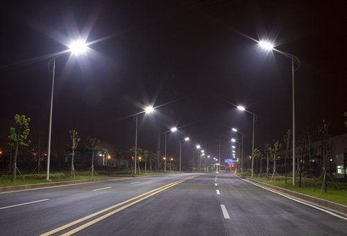Octagonal Poles For Roads