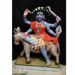 Kaalratri Mata Marble Statue