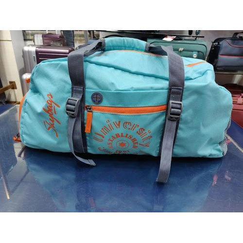 Blue Printed Skybags Fitness Bag f93431e12d5c6