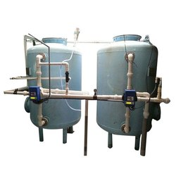 Vertical Water Softener