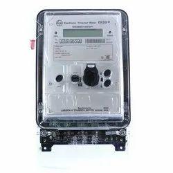 Three 1 A - 5 A L&T Energy Meter, Model Name/Number: ER300P, Voltage : 3 X 63.5V (P-N)