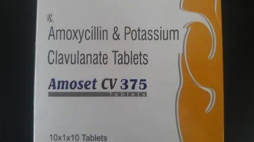 Amoxycillin & Clavulunate Tablets 375 mg