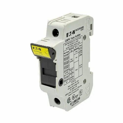 30a White Fuse Holder - Eaton Bussman Make, 1000v Dc, for Solar