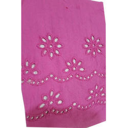 Cotton Embroidery Fabrics, For Dress