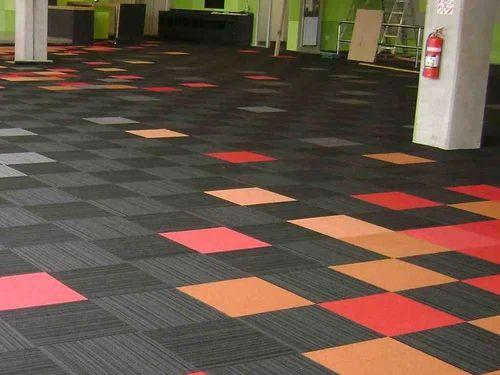 Modular Carpet Tile म ड लर क रप ट