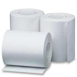 White Paper Thermal Gumming Sheets, Single Side