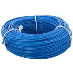 Blue PVC Electrical Wire