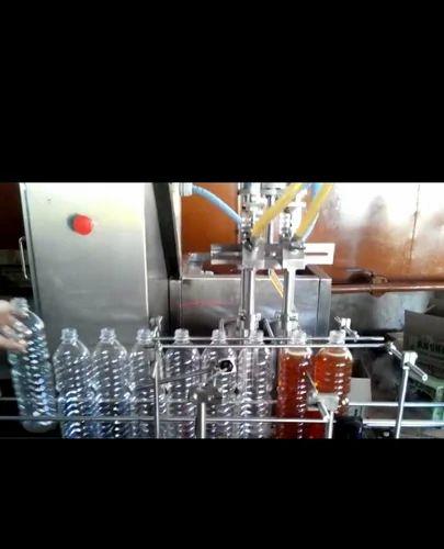 Coconut Oil Bottle Filling Machine