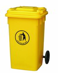 Yellow Dustbin