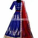 Indian Style Party And Wedding Embroidery Lehenga Choli