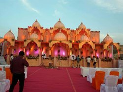 Fiber Wedding Stage Service