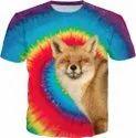 3D Sublimation Printing Custom Made T Shirt