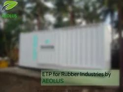 Effluent Treatment Plant For Rubber Industry