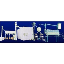Samay 50-60 Hz Fully Automatic Wheat Flour Mill Plant, Capacity: 0 to 5 Ton/Day, Power Rating: 31-100 HP
