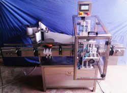 Automatic Jar Or Tin Labeling Machine