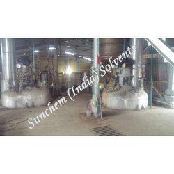 Distillation of Spent Solvent Jobwork