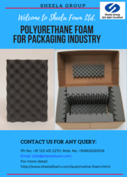 Foam for Thermal Insulation and Packaging