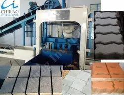 Chirag Powerful Performance Fly Ash Brick Press Machine