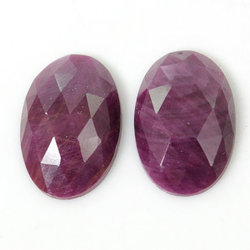 Talpe Cut Ruby Stone