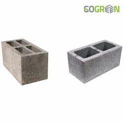 Go Green Hollow Block, Size: 100 x 200 x 400 mm