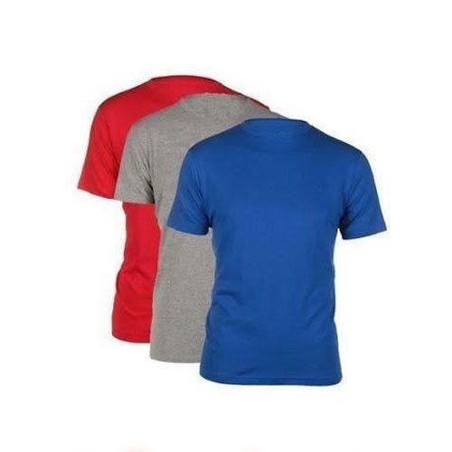 1d489ba2d84 Plain Round Neck Cotton T. Shirts