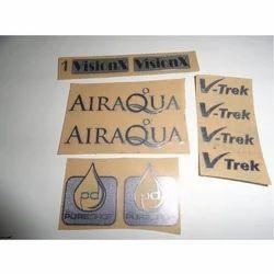 Aluminum Stickers