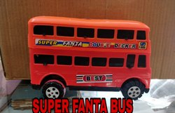 Montez Kids Fanta Bus Friction Toy Multicolor