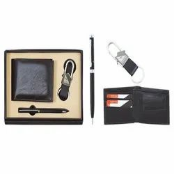 Leatherette 3 in One Gift Set