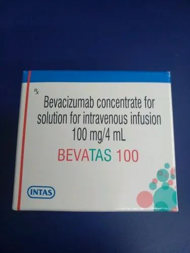 Intas Bevacizumab Concentrate Bevatas 100 mg Injection, Packaging Type: Vial, for Clinical
