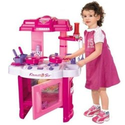Pink Plastic Toy Set Kitchen Set For Baby Girls Rs 880 Piece Shyam Intertion Id 21576431873
