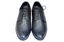 Black Mens Height Increasing Leather Shoes, Size: 6-9